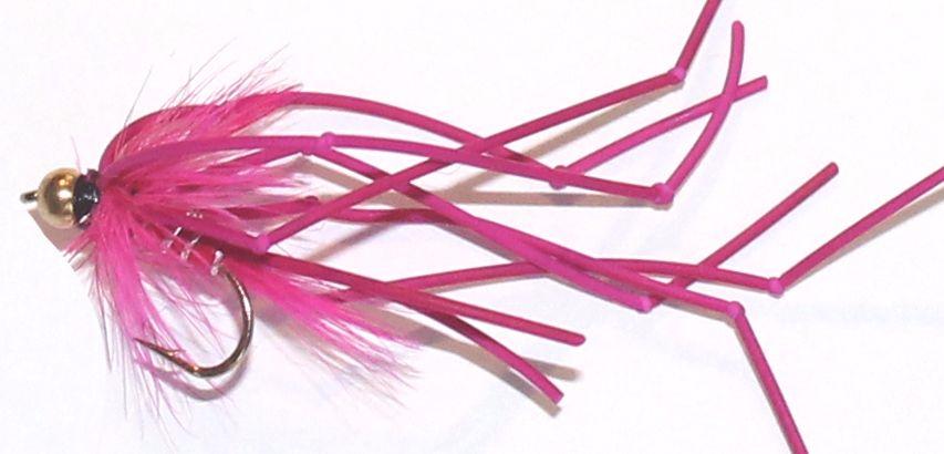 Daddy long legs - gold head vibrator -Pink [ DV2]