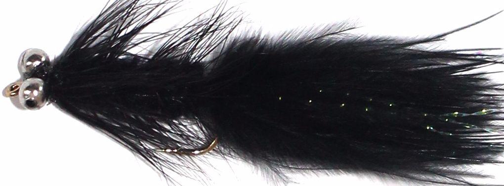 Dog nobbler,Black, chain eye,  DO 7