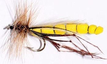 Daddy long legs,Segmented foam Yellow [DAD 21]