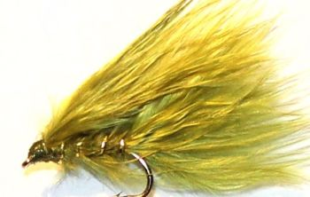 Damsel - Olive  Maraboue nymph /DAM 19