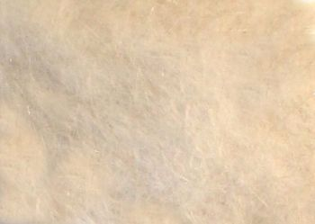 Natural white mink dubbing