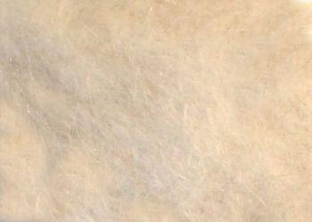Natural white mink dubbing