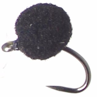 Egg Fly - Black -Unweighted ,Barbless  7MM/E26