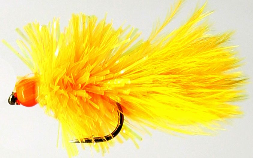 Blob - Sunburst Yellow - weighted - hot head orange  /BL4