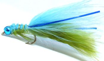 Blue flash Damsel,Size 12  [D 47]