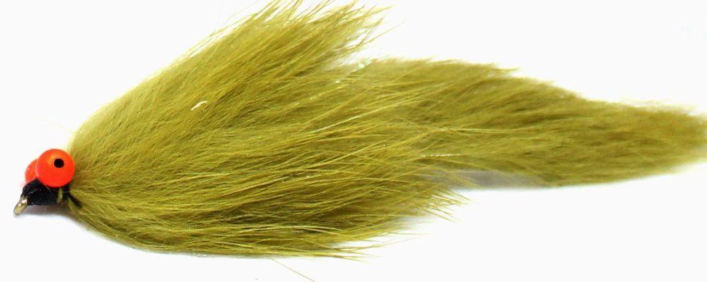 Bunny leech -Olive Orange hot head  [Z 61]