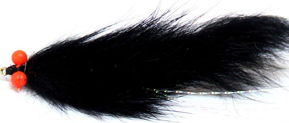 Bunny leech -Black with Orange hot head  [Z 63]
