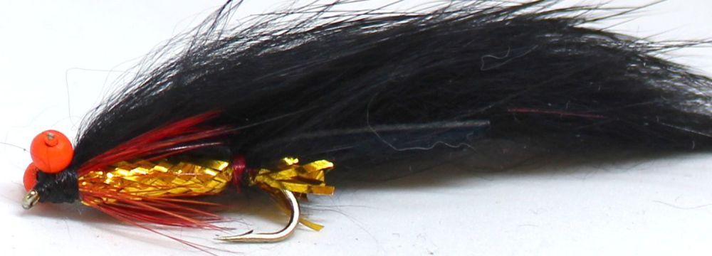 Zonker -Black / Gold with Orange hot head  [Z 65]