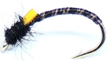 Buzzer - Black--stripped quill-Dubbed #10 [Q8]