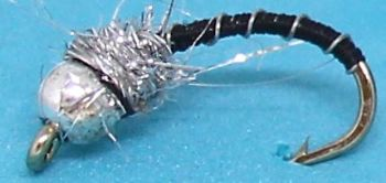 Silver head buzzer-Black and Silver # 12 [BH5]