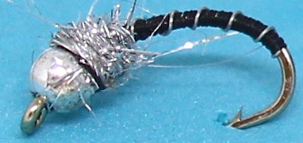 Silver head buzzer-Black and Silver # 12 [BH5]