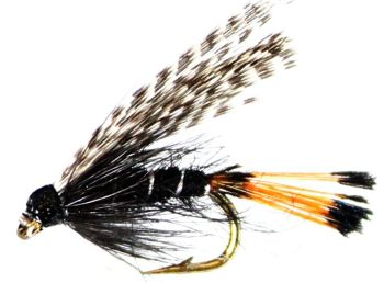 Teal and Black,wet fly  (W 50)
