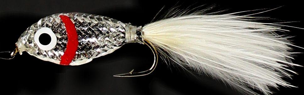 Epoxy minow ,red gill silver  [em 6]