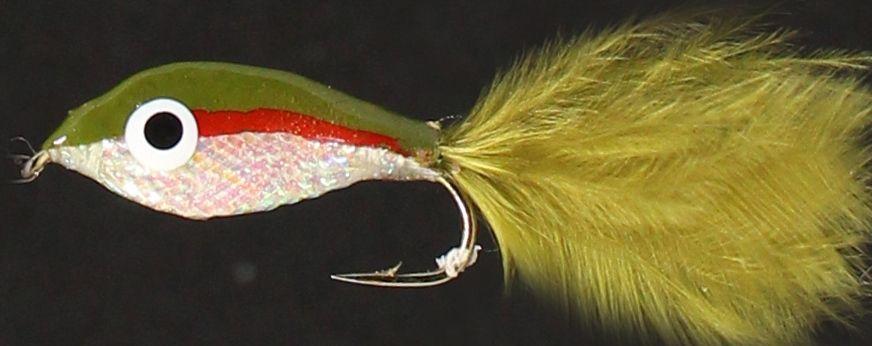 Epoxy minow ,red stripe trout  [em 7]