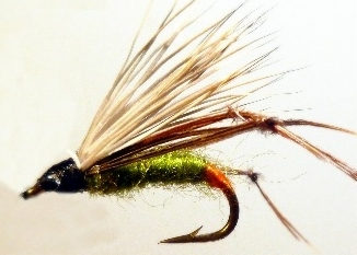 Deer hair hopper, Olive  [HOP1]