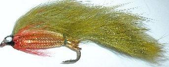 zonker - Olive with Gold mylar body /Z24