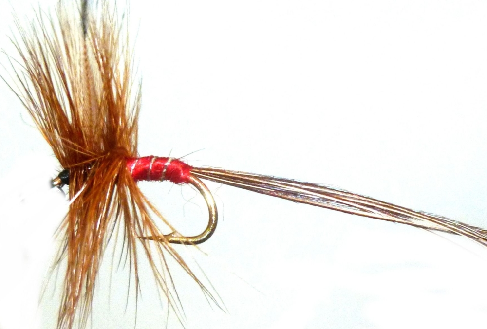 Mayfly /Spinner /Red [M5]