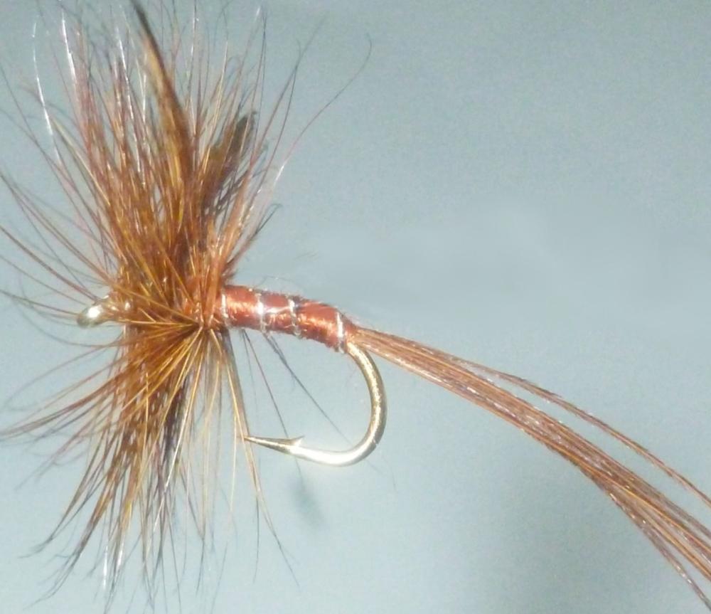 Mayfly /Spinner /Brown [M14]