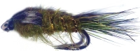 Gold ribbed hares ear -Olive#12 /N3
