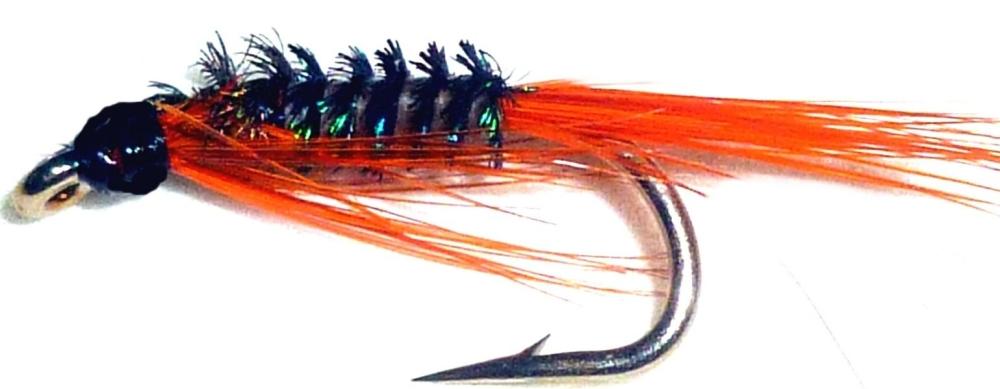 Diawl bach,Orange Quill #12 / D24