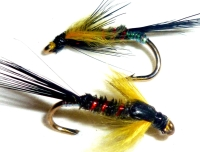 Diawl bach,Sunburst marabou buds #12 / D26