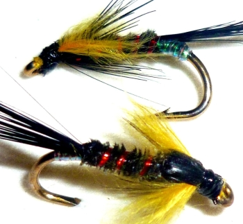 Diawl bach,Sunburst marabou buds #14 / D26