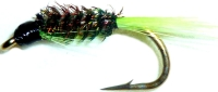 Diawl bach,Chartreuse Quill #14 / D36