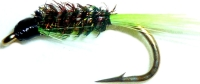 Diawl bach,Chartreuse Quill #12 / D36