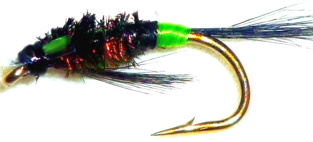 Diawl bach,Hot butt Green #14 / D27