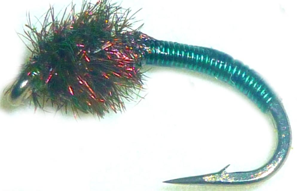 Brassie-bottle green -peacock #14 [BR3]
