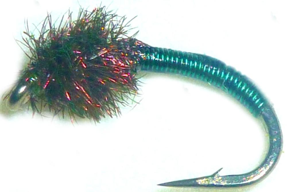 Brassie-bottle green -peacock #12 [BR3]
