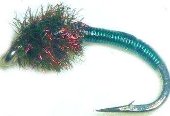 Brassie-bottle green -peacock #16 [BR3]