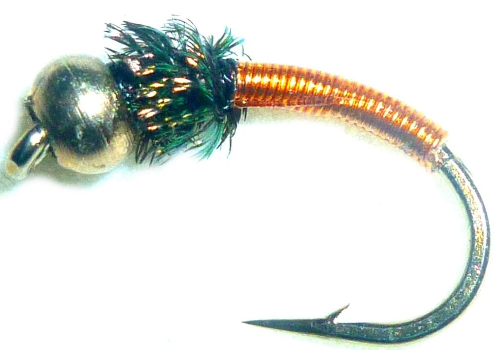 Brassie-Beadhead-Copper #12 [BR7]