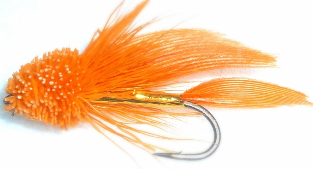 Muddler-Traditional -Orange