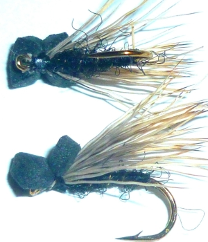 Caddis , Black ,foam head /DR 27