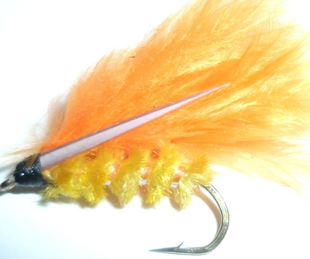Cormorant Orange and Yellow # 12  [cor 4]