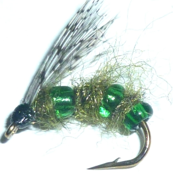 Pulsating  caddis -# 14 /DR 38