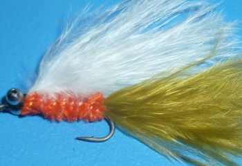 Cats whisker,Orange,olive and white [CAT2]