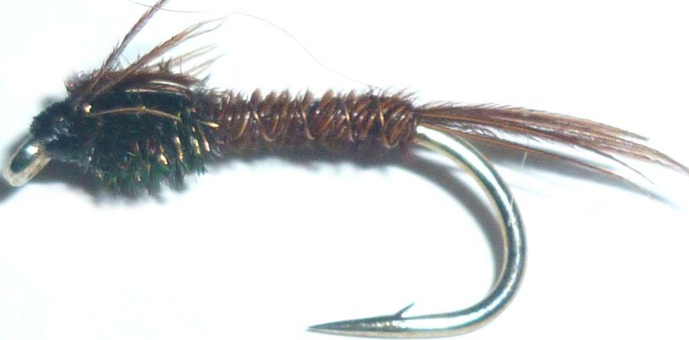 Pheasant tail nymphs ,natural /N16