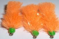 Blob -Tangerine Orange and Green  /BL20