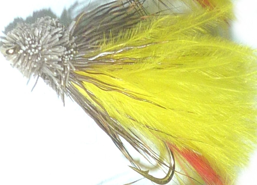 Muddler -Marabou Yellow