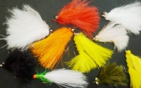 Cats Whiskers, 10 xTrout flies , assorted patterns