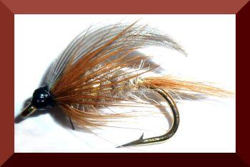 GR Hares Ear Wet fly #12 (W4)