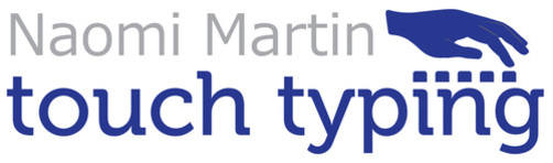 Naomi Martin Touch Typing & Tuition, site logo.