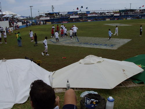 Scene at CupMatch 2007 St Georges CC Bermuda