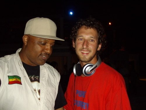 CLINARK with DJ C-CYDE from UK RGGAE GUIDE UK Bermuda