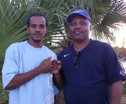 Clinark and Bredren Troy Athony Bermuda Big Artist in Unity AUG 2007 BERMUD