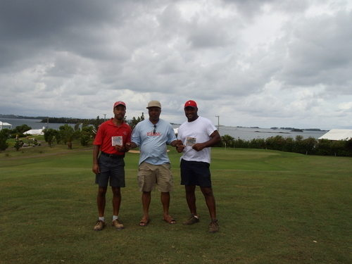 Clinark with Bredren Dion and Neeko at Riddles Bay Golf Course Bermuda Aug
