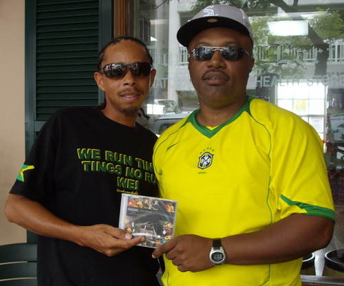 Clinark with Bredren Intel Diplomat Bermy Internet Radio Dj Aug 2007 Bless