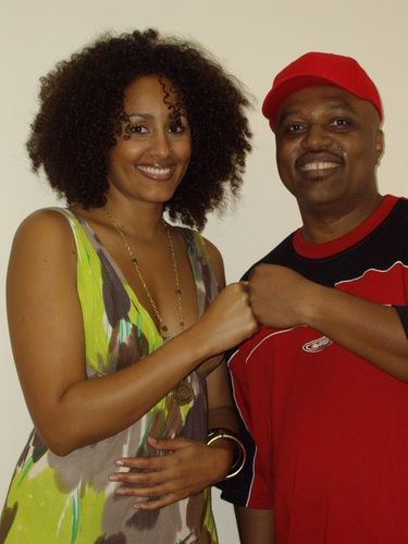 ITS TRUE Video shoot Clinark and Irie Love At Nurture Projects Studio UK B